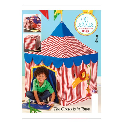 Circus Tent Table Sewing Template