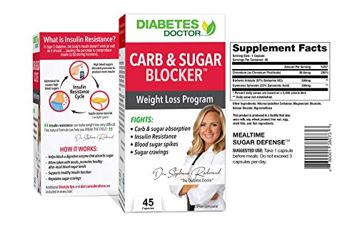 Diabetes Doctor A1C Bundle Pack - 24 Hour Daily Support & Mealtime Carb & Sugar Defense - Insulin & Weight Loss Support - 1 Month Supply 3
