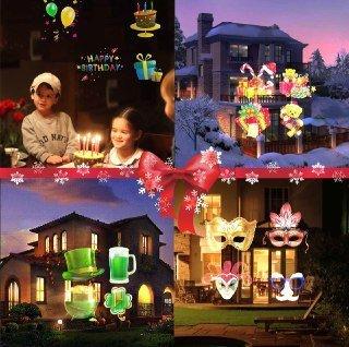 Outdoor Lighted Plastic Santa Claus - 4