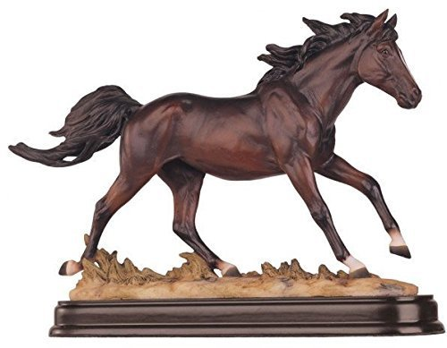 - GSC Horses Collection Brown Horse Figurine Decoration Decor Collectible