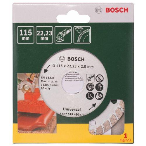 Bosch Diamanttrennscheibe Turbo, Ø 115 mm, 2607019480