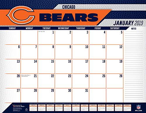 Turner Licensing Chicago Bears 2019 Desk Calendar (19998061531) ()