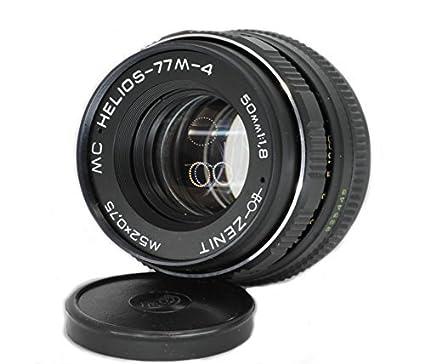 Amazon com : Helios 77M-4 50mm F1 8 Russian Vintage Lens for