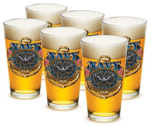 US Navy American Beer Glassware