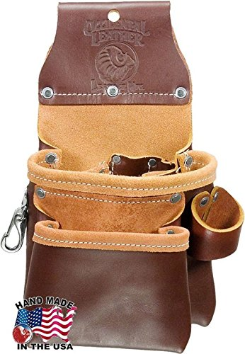 Occidental Leather 6102 Leather Pro Trimmer Bag Belt with 9 Tool - Leather Furniture Old Hickory