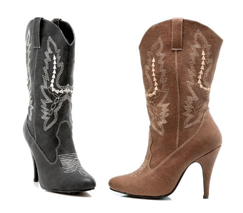 Ellie Shoes Women's 4 Inch Heel Ankle Cowgirl Boot With Stiletto Heel - Stiletto Boots Heel