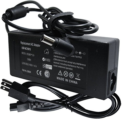 Laptop Ac Adapter Charger Power for Sony Vaio PCG-7131L P...