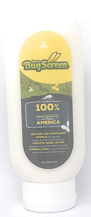 Frankys BugScreen All Natural Made in The USA