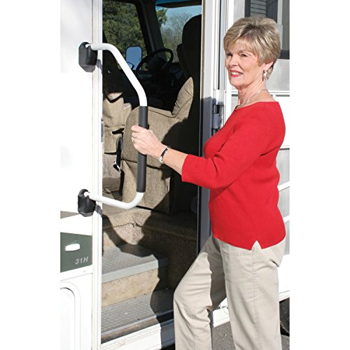Stromberg-Carlson-AM-200-Lend-A-Hand-White-Assist-Handle-with-Foam-Grip