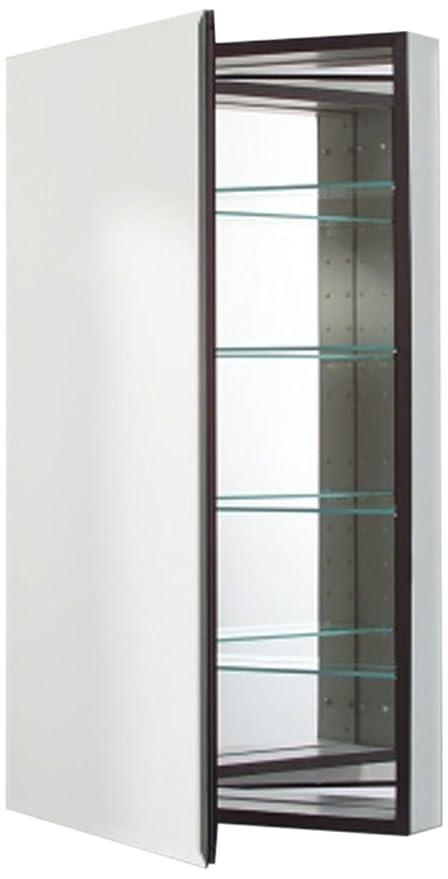 Robern CB MP24D6FBN M Series Flat Bevel Mirror Medicine Cabinet