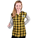 NFL Green Bay Packers Womens NFL Women's Lightweight Flannel Hooded Jacket, X-Large