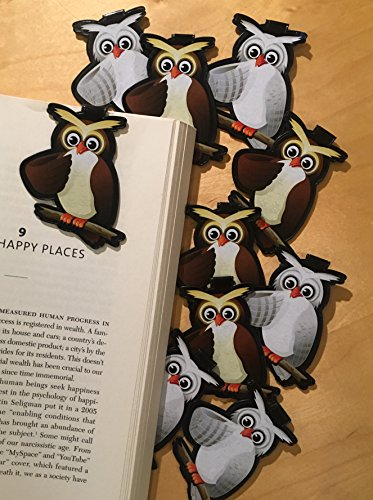 Owl Bookmarks (Set of 10) -