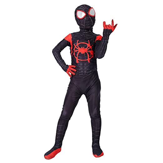 QQWE Traje Cosplay Spiderman para Niños Traje Disfraces ...