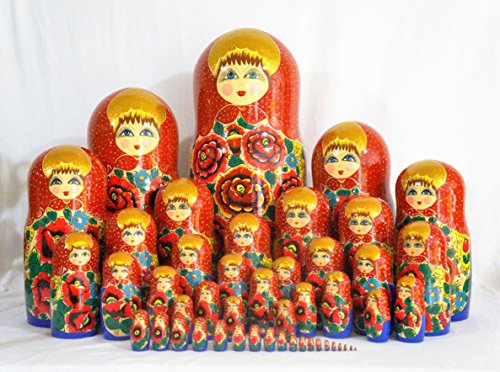 Exclusive 48 pc Russian Nesting Doll 24