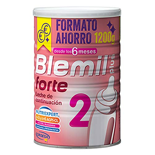Blemil Plus 2 Forte tin 1200g - Baby Formula - 6 Months and Onwards - Supplier of Vitamins, Proteins and Minerals - Optimum Growth of Infants