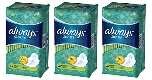 always-ultra-thin-pads-super-absorbency-with-wings-32-count-pack-of-3