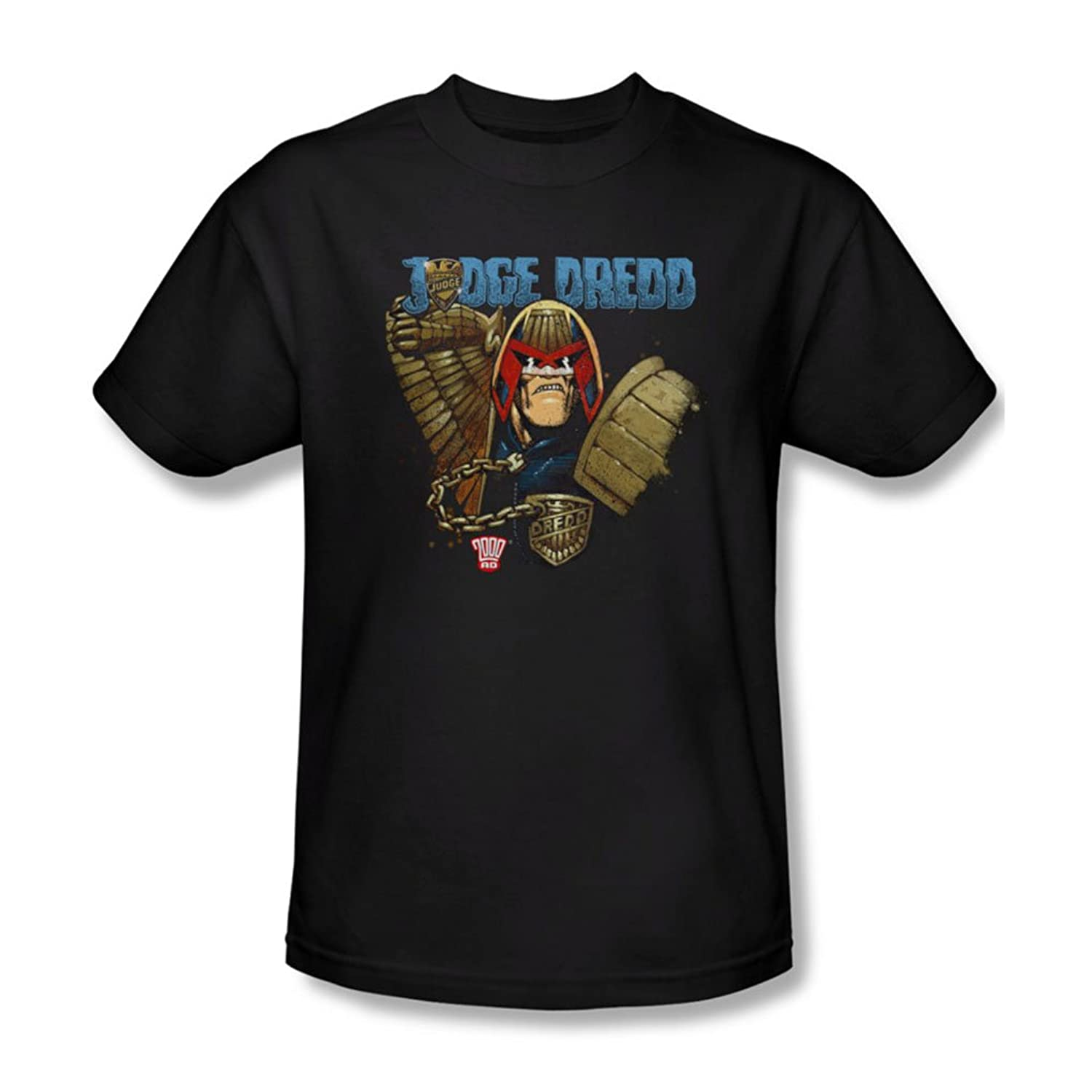Judge Dredd - Mens Smile Scumbag T-Shirt