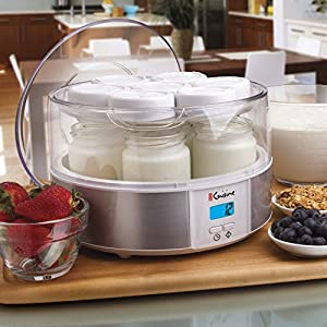 Automatic Digital Yogurt Maker with Easy-To-Read LCD Display