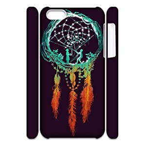 Personalized New Print Case for iPhone 5 5s 3D, Dream Catcher Phone Case - HL-R5 5s50193