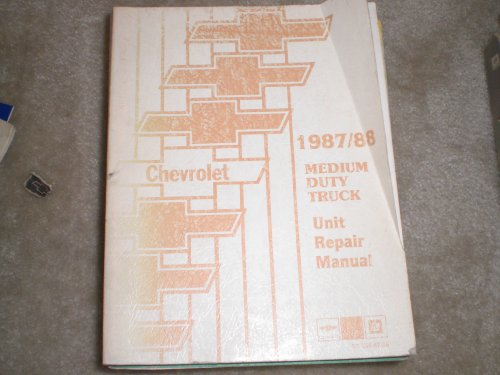 (1987-1988 Chevrolet Medium Duty Truck Unit Repair Shop Manual Original )