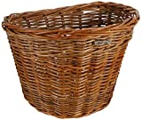 Bell Basil Darcy Bicycle Basket, Varnished Natural
