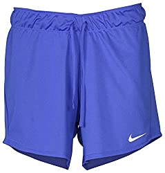 Nike Women's 5'' Dry Attack Shorts Small Blue