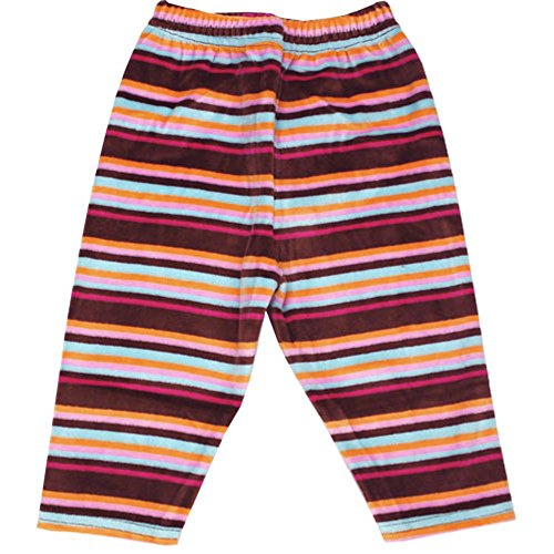 Zutano Chocolate Stripe Velour Leggings, 18-24 months