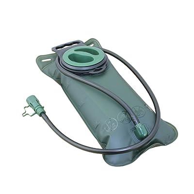 2L Anti-Fuite Système d'Hydratation Réservoir Eau Portable Sac à Eau Pliable pour Camping Randonnée Sport Voyage