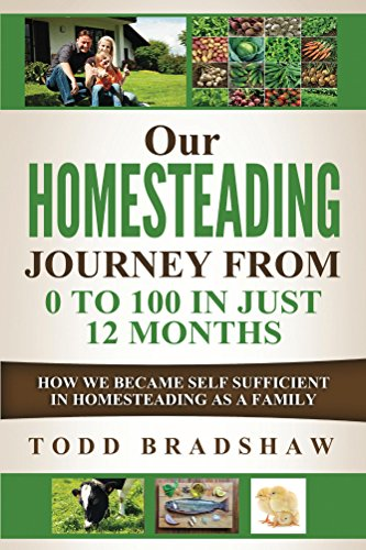 Our Homesteading Journey From 0 to 100 In Just 12 Months: How We Became Self Sufficient in Homesteading As a Family - Backyard Homestead Country Living at its Best by [Bradshaw, Todd]