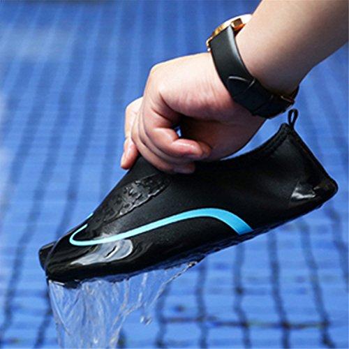 Nudi Yoga Corsa Unisex Cielo Piedi Pelle A Blu Swim Beach Scarpe Surf Per Acqua run La L Dive qn0Zpp