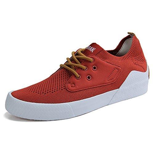 Flyknit Top Sneaker Men's Breathable Orange Low Fashion TWEAK 6XwEY6