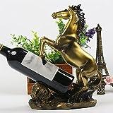 creative wine rack ornaments European resin crafts wine rack wine rack