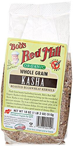 Bob's Red Mill Organic Buckwheat Toasted Kasha, 18 Ounce