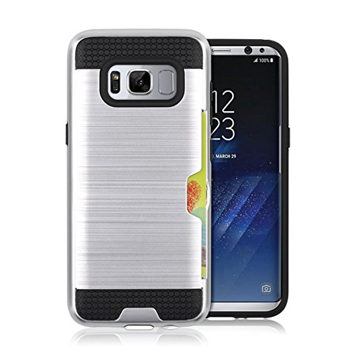 TOTOOSE Samsung Galaxy S Lite Luxury Edition Samsung Galaxy S8 Case, [Carry Case ] [ Carry Case ] [ Cell Phone Cases ] Protective Bumper Case Cover Shell Holster, Silver