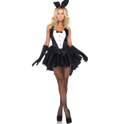 HZH Disfraz de Cosplay de Halloween, Nuevo Disfraz de Conejito de ...
