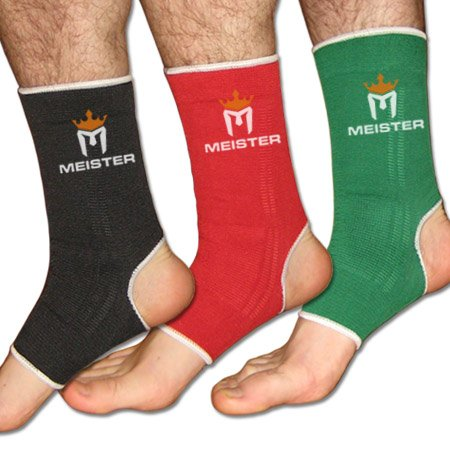 Muay Thai MMA Ankle Support Wraps (Pair)