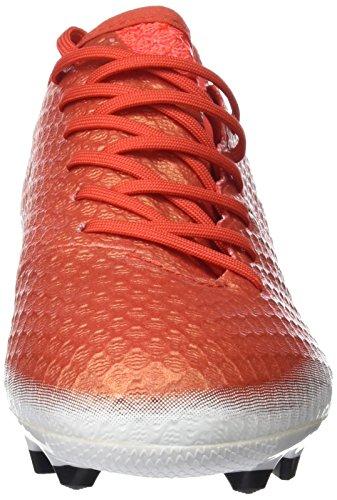 adidas Messi 16.1 Fg J, Botas de Fútbol Unisex Bebé Rojo (Red C Ore Blackfootwear White)