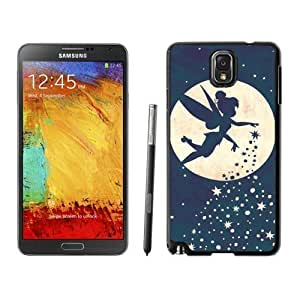 Fashion Forever Young Tinkerbell For SamSung Galaxy S4 Mini Case Cover in Black