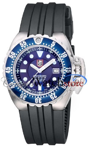 Luminox 1513.S1 Watch Deep Dive Mens - Blue Dial Stainless Steel Case Automatic Movement