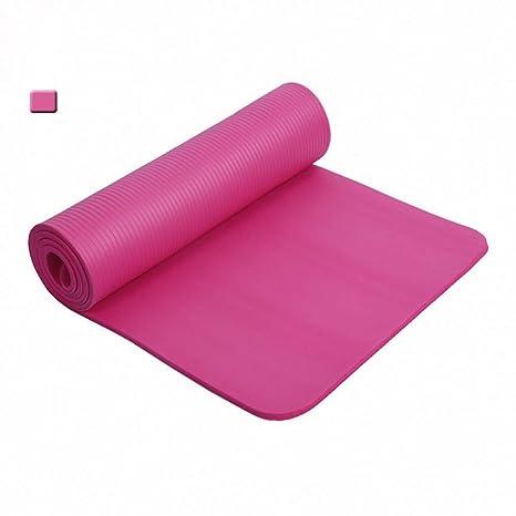 HYTGFR 10Mm Esteras de Yoga 183Cmx61Cm Mantas Deportivas ...
