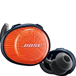 Bose SoundSport Free, True Wireless Earbuds, (Sweatproof Bluetooth Headphones for Workouts and Sports), Black 6 <p>Demanding workouts demand SoundSport Free wireless headphones. Theyre completely free of wires, so youll enjoy complete freedom of movement. Theyre sweat and weather resistant, too. Bose StayHear Sport tips are designed to stay secure and comfortable all workout long. And the earbuds are packed full of technology that makes your music sound so clear and powerful, youll push past your limits. Completely wireless Strong, reliable Bluetooth connection Stable, comfortable and lightweight Clear, powerful sound Volume-Optimized EQ</p>