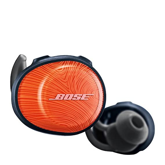 Bose SoundSport Free, True Wireless Earbuds, (Sweatproof Bluetooth Headphones for Workouts and Sports), Black 1 Completely wireless Strong, reliable Bluetooth connection Stable, comfortable and lightweight