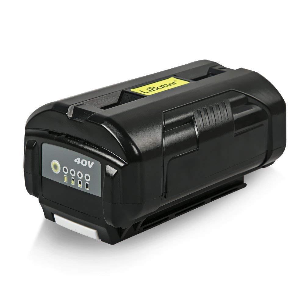 LiBatter Powerful 40V Battery 6Ah 240Wh Compatible with Ryobi 40V Tools (Black-6Ah)