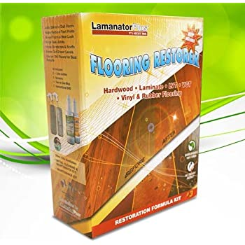 Amazon Com Lamanator Plus Floor Restoration Kit Clean