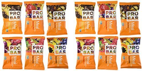 Probar Meal Bar Variety Pack of 12 ()