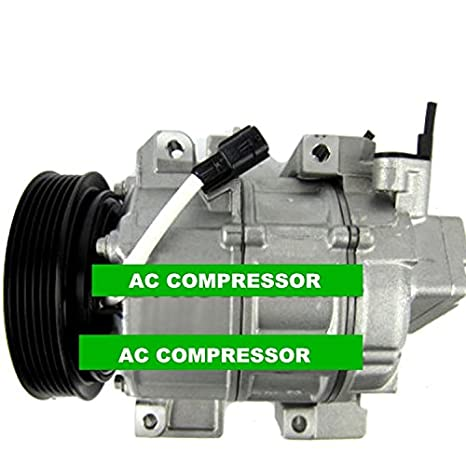 GOWE A/C Compressor with Clutch fits for car Nissan Altima 2.5L 2007-2009 for car Nissan sentra 2.5L 6pk 92600-ET82A - - Amazon.com