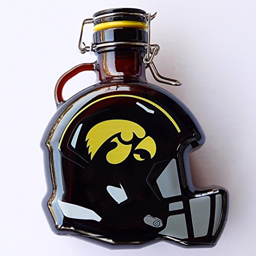 Bank Hawkeyes Piggy Iowa (Iowa Hawkeyes Glass Beer Growler or Piggy Bank, Holds 50 oz., 7