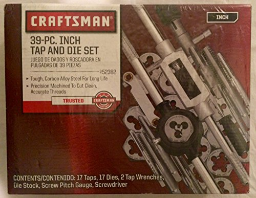 Craftman 39-pc Inch Tap and Die Set