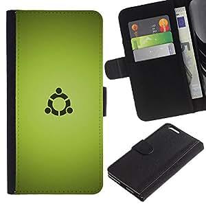 """A-type (Portal sesión"""") Colorida Impresión Funda Cuero Monedero Caja Bolsa Cubierta Caja Piel Card Slots Para Apple (5.5 inches!!!) iPhone 6+ Plus / 6S+ Plus"""