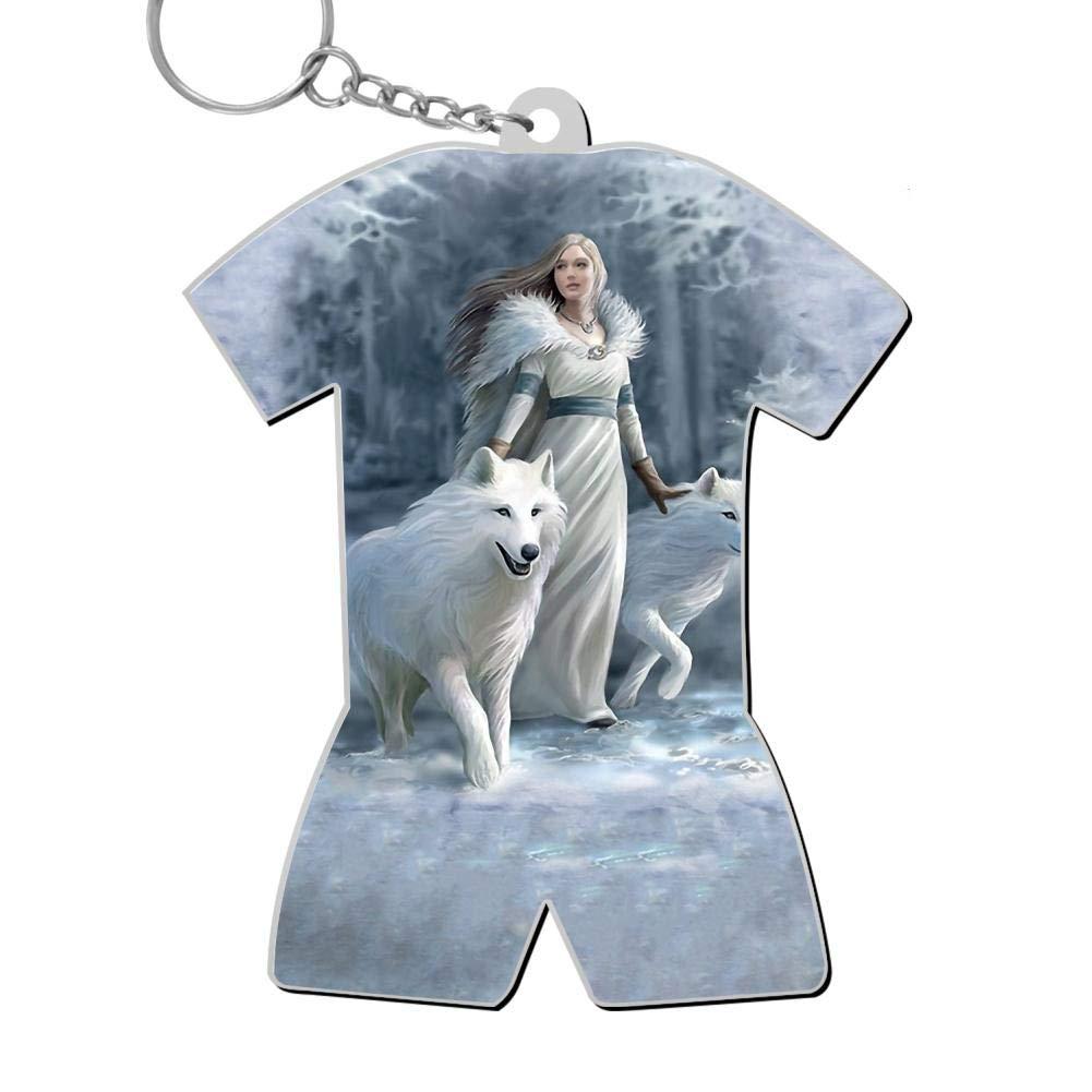 okkeyring Winter Guardians Zinc Alloy Dorm Key Chain Gift for Friends Boys Girls